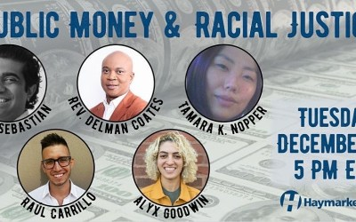 Public Money and Racial Justice 12/15/20