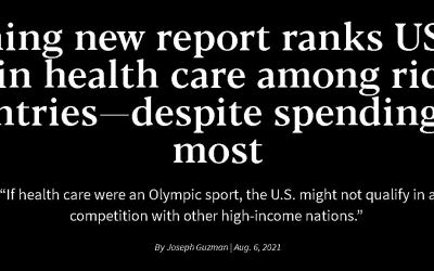 Stunning New Report Ranks Us Dead Last in Health Care Among Richest Countries—Despite Spending the Most