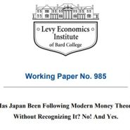 Has Japan Been Following Modern Money Theory Without Recognizing It? No! And Yes.